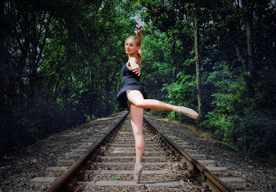 Summer, Dance, Ballet, Forest, Nature, Human, Magical