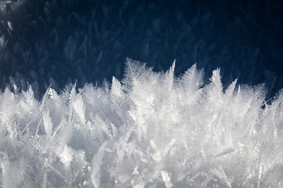 Ice, Snow, Crystals, Nature, Frozen, Winter, Wintry