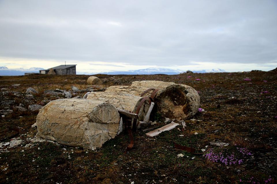 Polar, Arctic, Camp, Historic, Frozen, Barrel, Nature