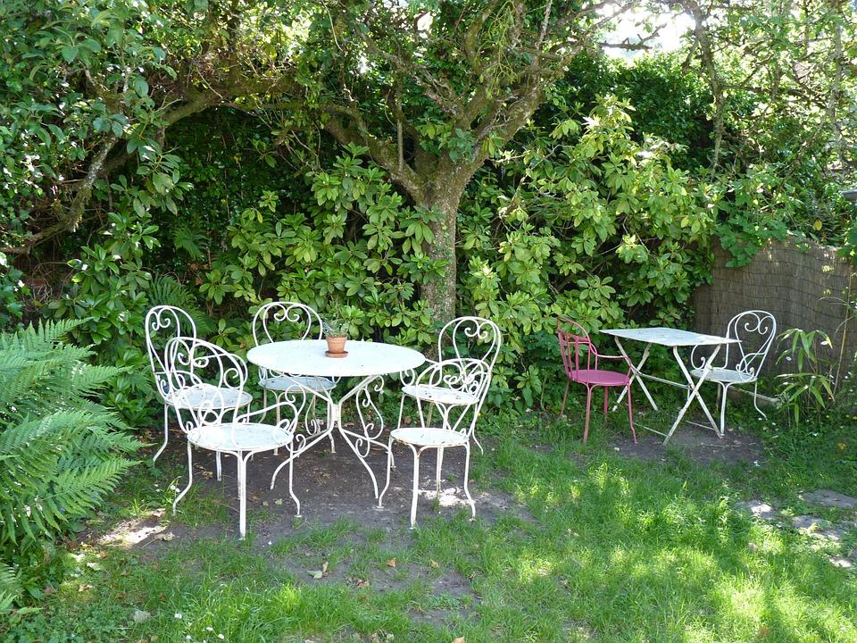 Free photo Nature Garden Bistro Garden Furniture Max Pixel
