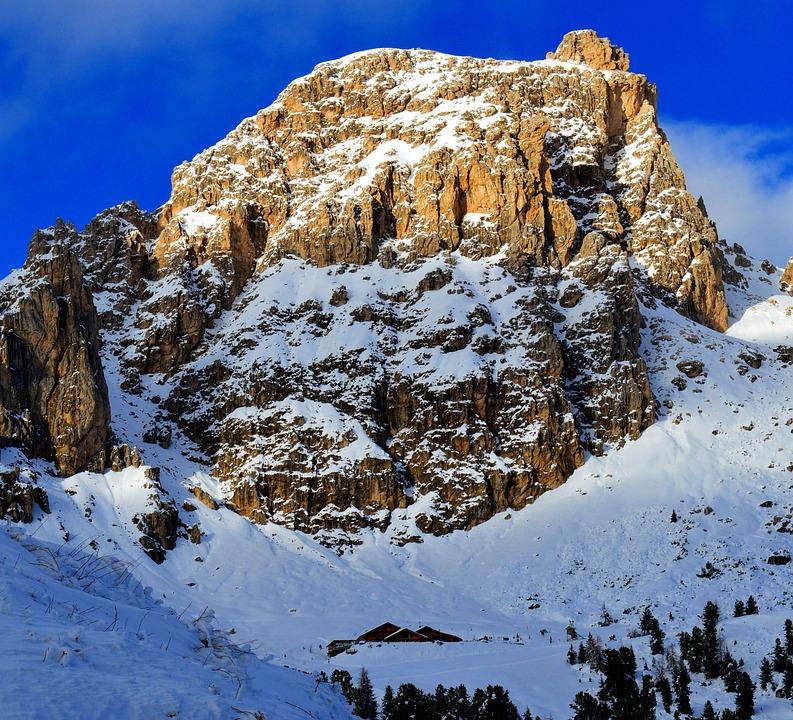 Mountains, Alpine, Gardena, Nature, Dolomites