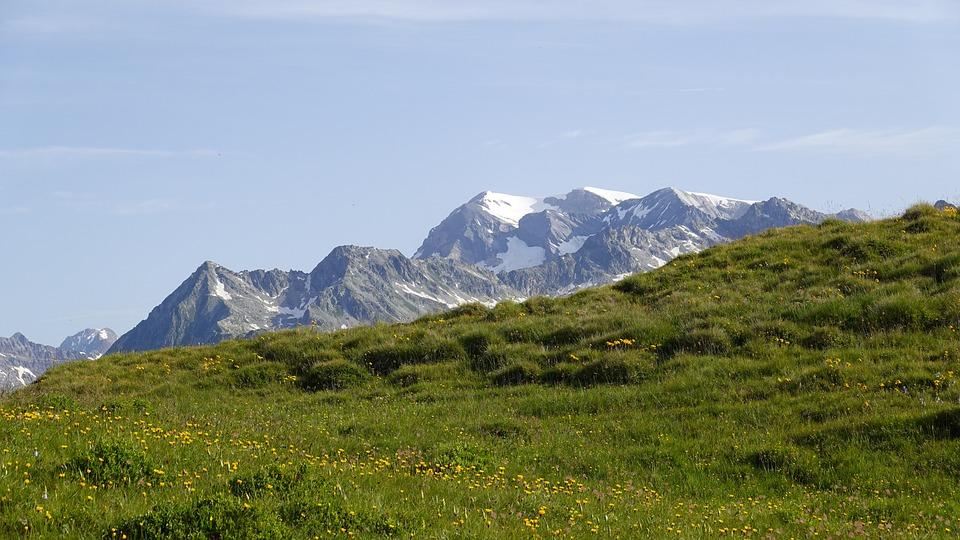 Mountain Panorama, Graubünden, Garvera, Nature