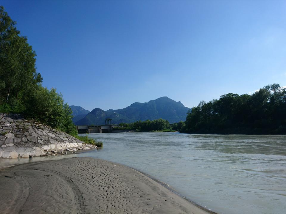 Landscape, Water, Nature, Bavaria, Germany, River