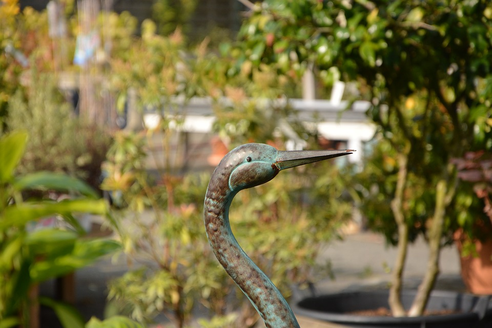 Free photo Nature Gift Offer Décoration Jardin Bird Metal - Max Pixel