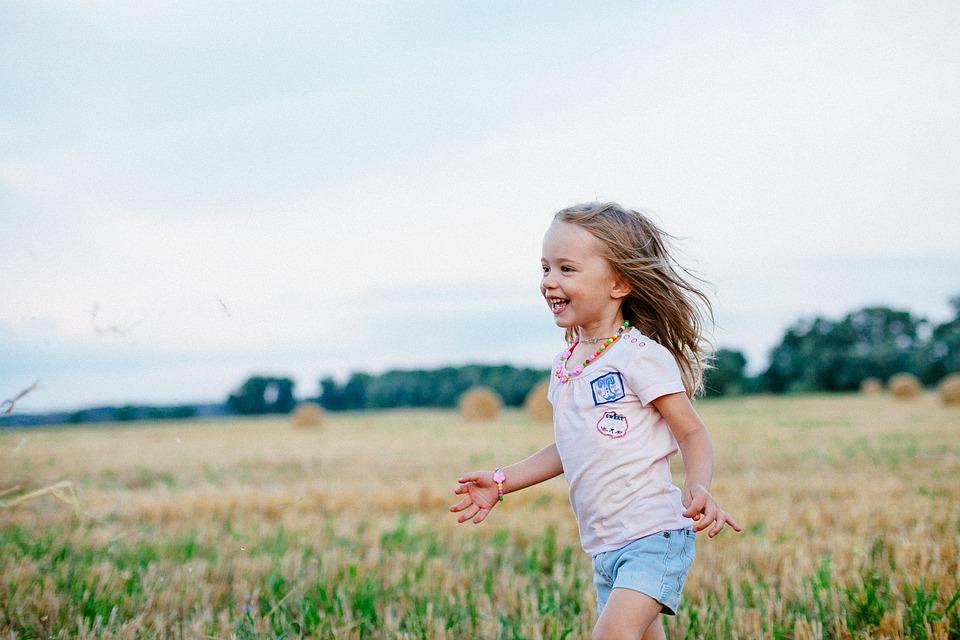 Joy, Field, Summer, Smile, Girl, Nature, Fields