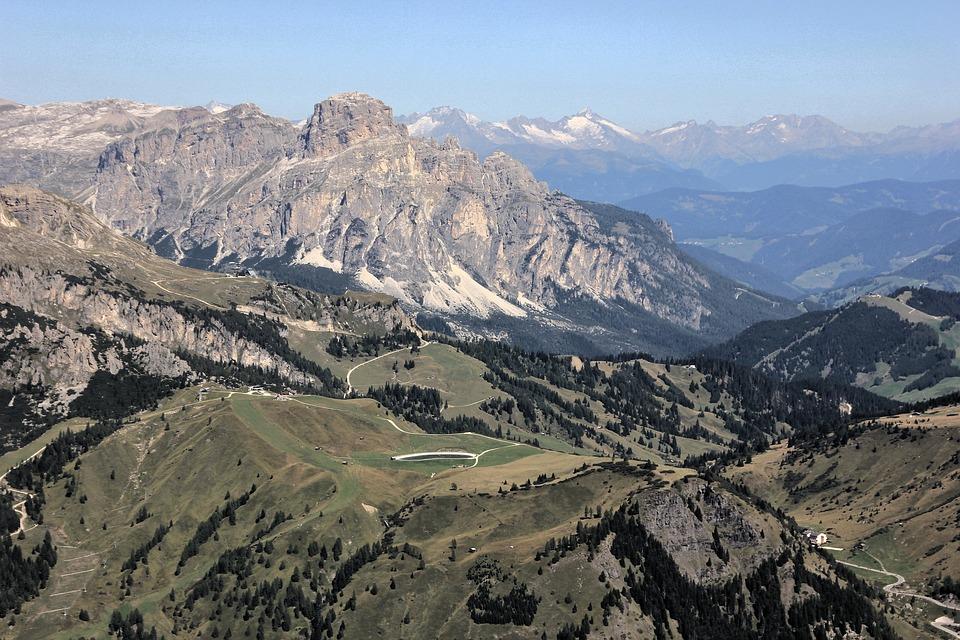 Mountain, Landscape, Nature, Travel, Sky, Tree, Grass