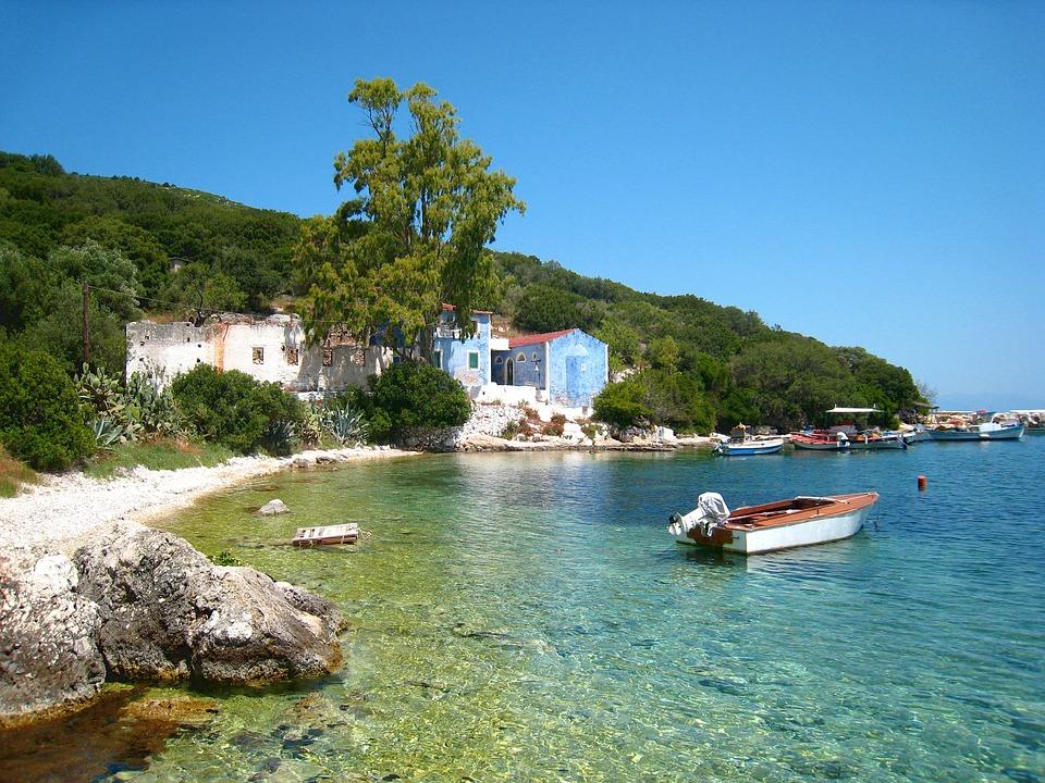 Sea, Booked, Nature, Landscape, Greece