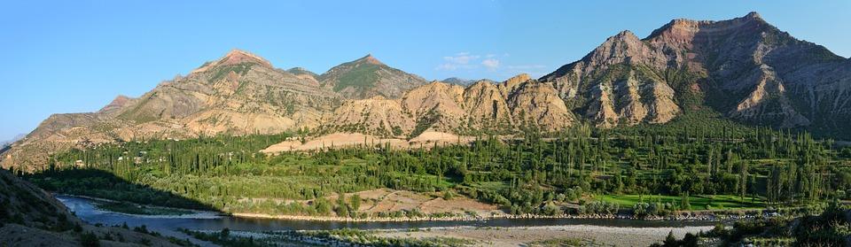 Kaçkars, Coruh, Mountains, Clouds, Nature, Green
