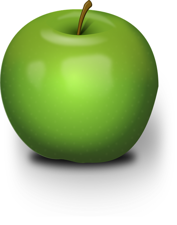 Apple, Green, Fruit, Juicy, Nature, Nutrition, Stem