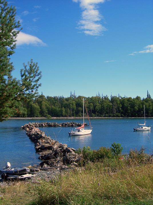 Boat, Summer, Lake, Harbor, Nature, Water, Outdoor, Sky