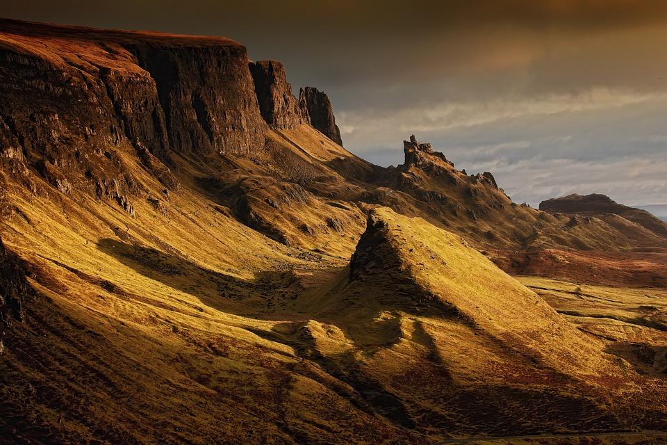 Landscape, Scotland, Nature, Highlands And Islands