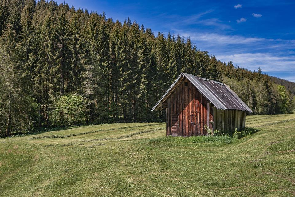 House, Cottage, Nature, Cabin, Landscape, Home, Rural