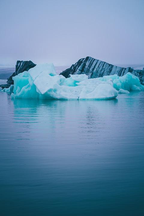 Nature, Photography, Iceland, Ice, Iceberg, River