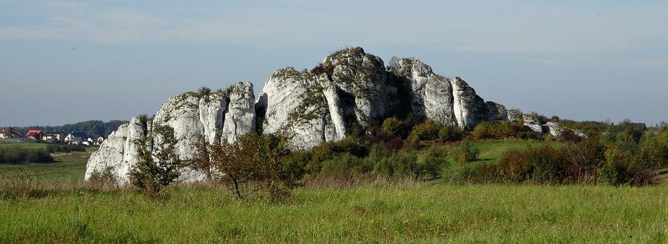 Jerzmanowice, Poland, Rock, Nature, Landscape