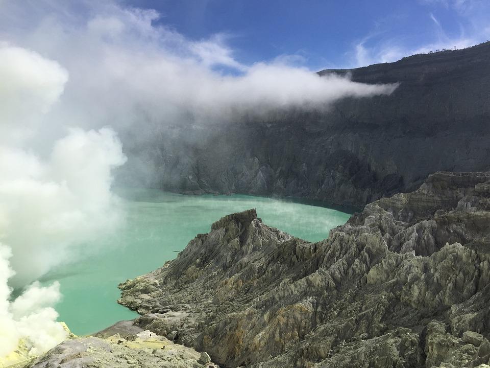 Volcano, Kawah Ijen, Nature