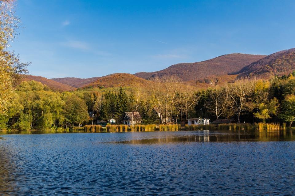 Lake, Water, Waterfront, Nature, Landscape, Mountain