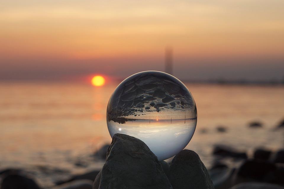 Sunset, Sea, Nature, Sun, Beach, Lake Constance, Lake