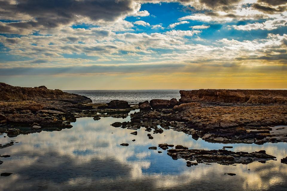 Rocky Coast, Beach, Rock, Landscape, Nature, Scenery
