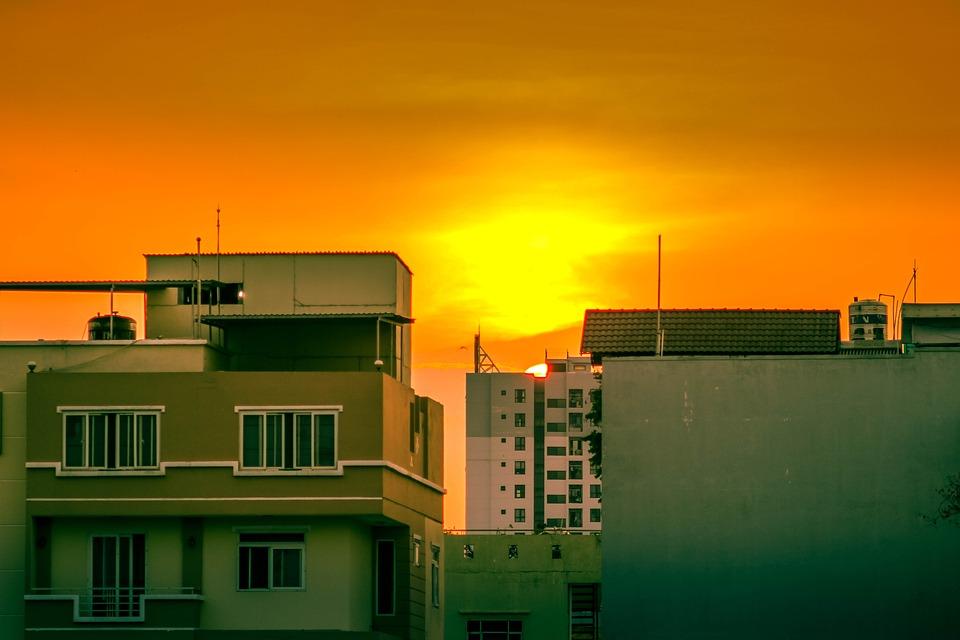 Dawn, Sunset, Nature, Sky, Clouds, Horizon, Landscape