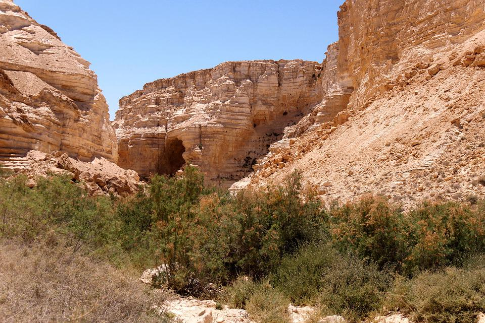 Israel, Desert, Landscape, Moses, Travel, Ex, Nature