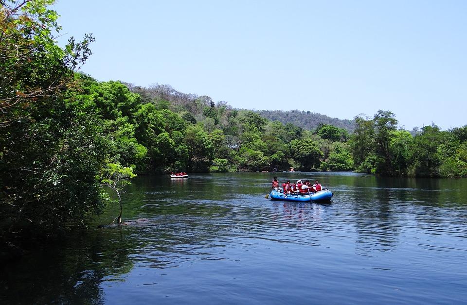 River, Kali, Rafting, Nature, Landscape, Mountain