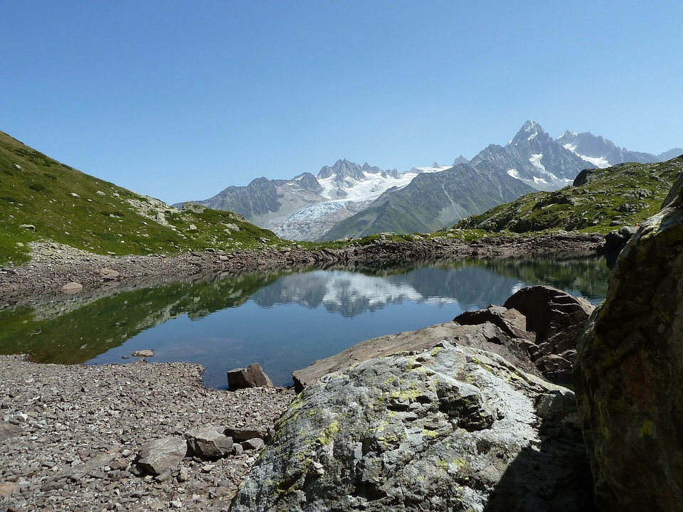 Lake, Mountain, Landscape, Nature, Water, Alps