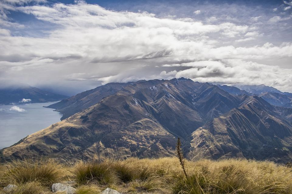 Mountains, Mountain, Clouds, Landscape, Nature, Alpine