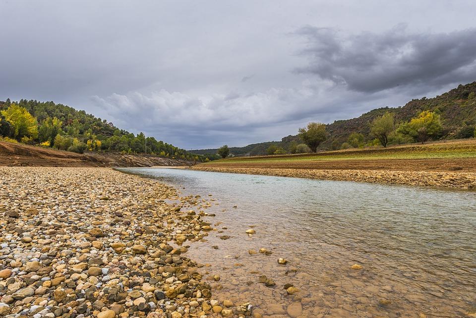Landscape, Mountains, River, Nature, Mountain River