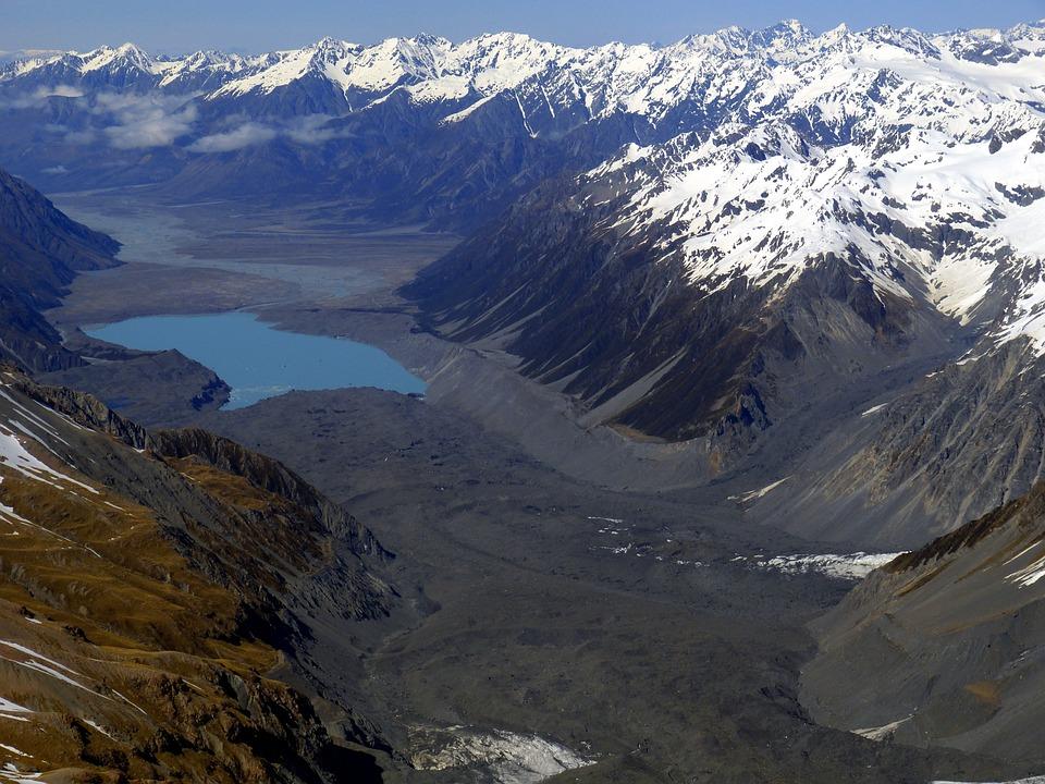 New Zealand, Nature, Landscape, South Island