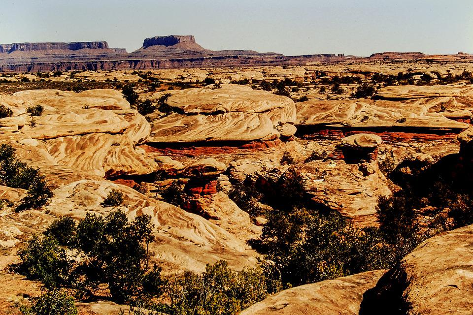 Landscape, Canyon Lands, Park, Travel, Nature