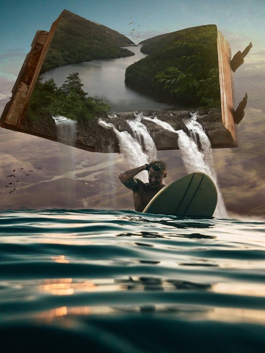 Waters, Nature, Sea, Adventure, Landscape, Surfer