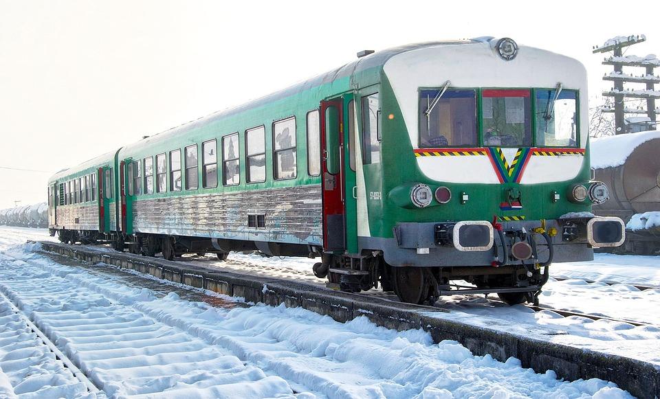 Train, Nature, Landscape, Locomotive