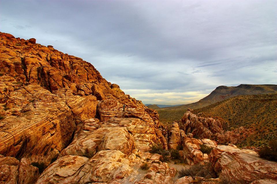 Red Rock, Rock, Canyon, Landscape, Nature, Vegas