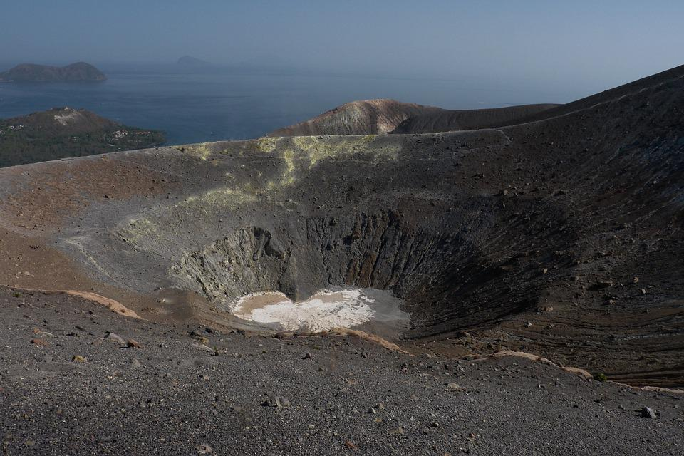 Volcano, Landscape, Travel, Nature, Volcanic, Crater