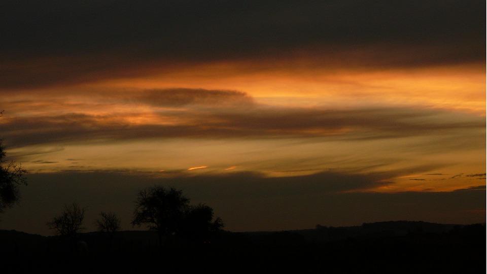 Sunset, Air, Heaven, Landscape, Nature, Travel, Vote