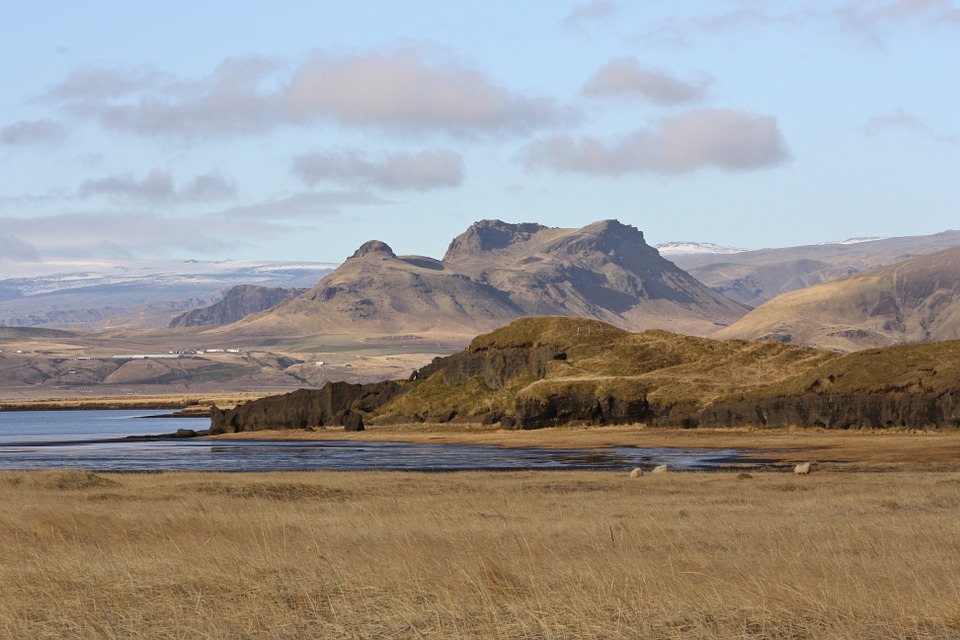 Landscape, Iceland, Wide, Nature, South Coast