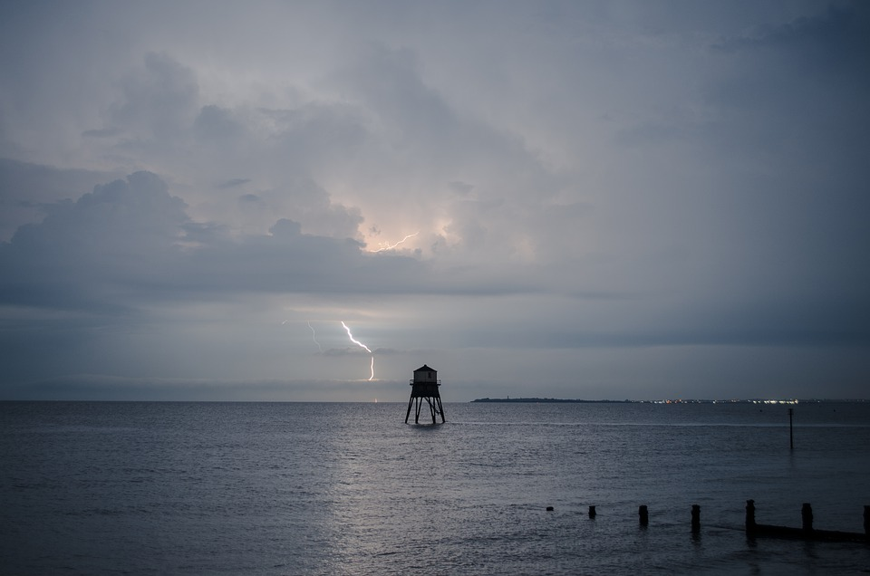 Lightning, Storm, Thunderstorm, Weather, Nature, Cloud