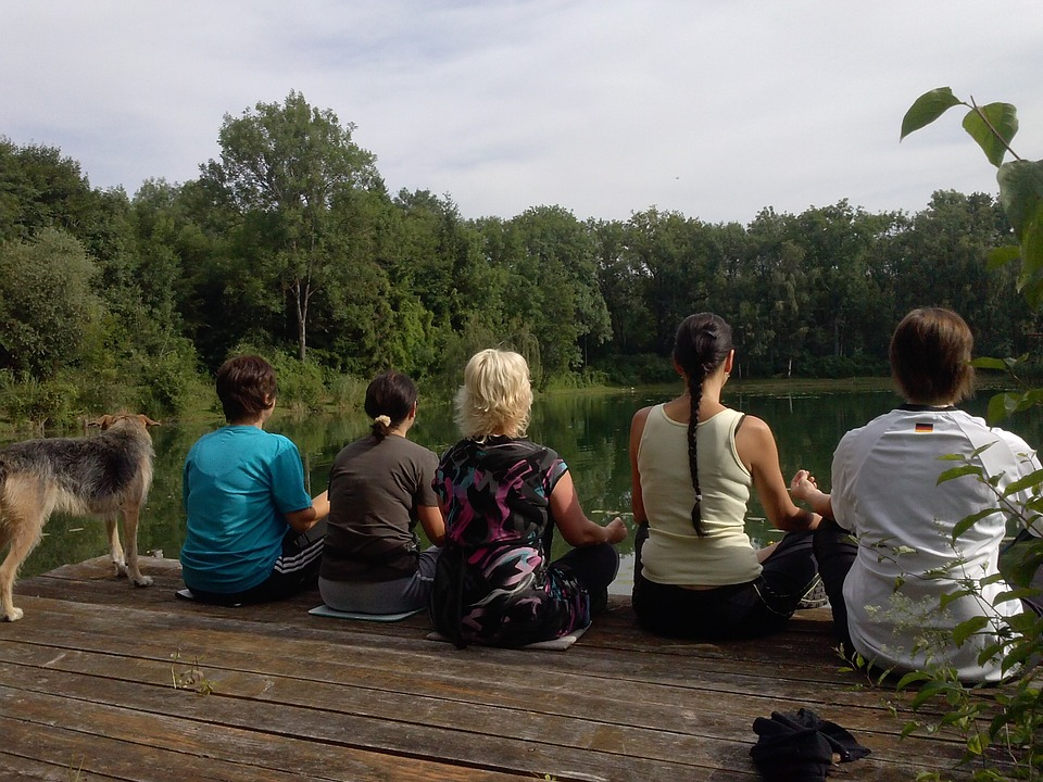 Yoga, Meditation, Nature, Relaxation