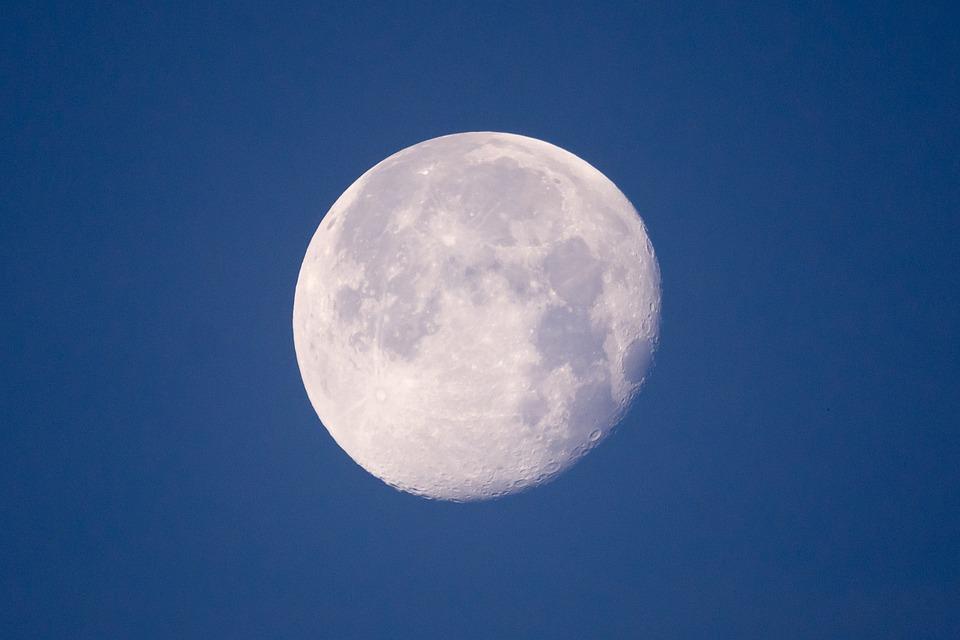 Moon, Nature, Sky, Night, Landscape, Fantasy, Dream
