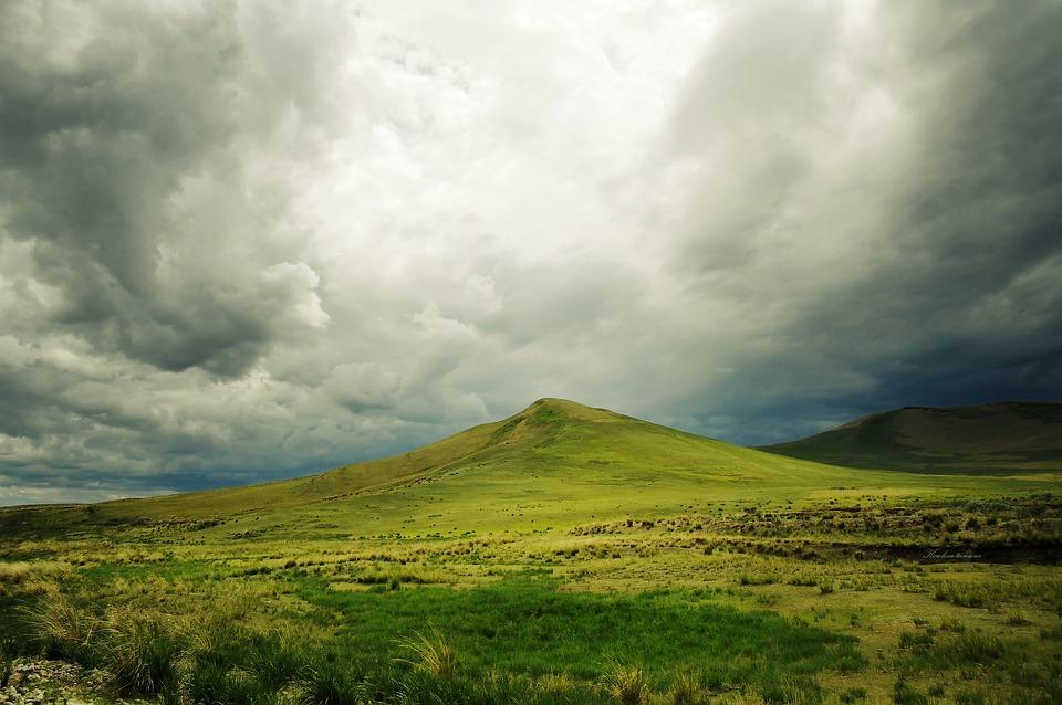 Mountain, Clouds, Nature, Sky, Landscape, Cloudy