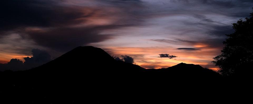 Mountain, Sunset, Highlands, Landscape, Nature