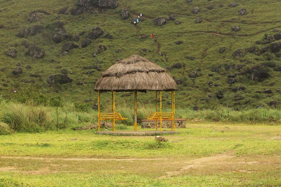 Grass, Nature, Wood, House, Hut, Mountain Hut
