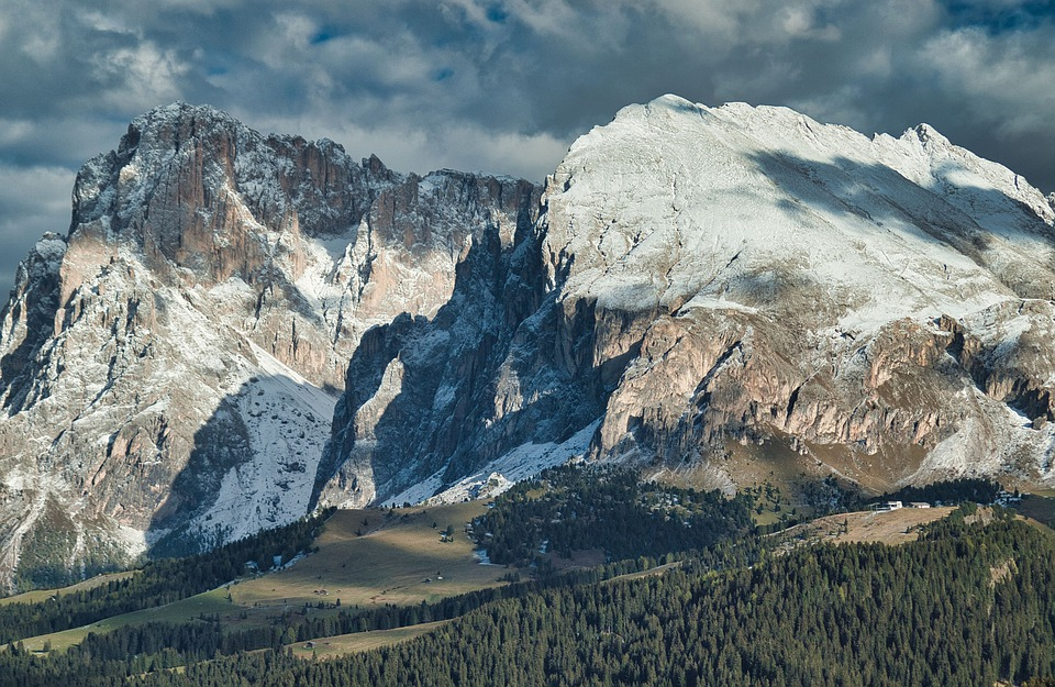Mountain, Nature, Landscape, Seiser Alm, South Tyrol
