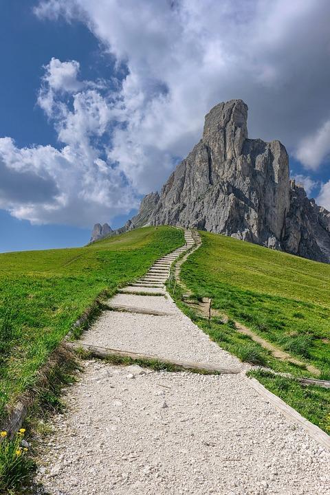 Nature, Landscape, Mountains, Mountain World, Away