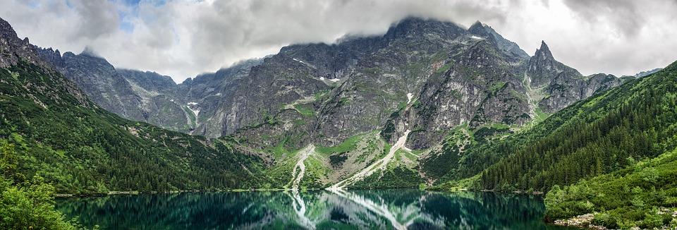 Lake, Mountains, Morskie Oko, Mountain Lake, Nature