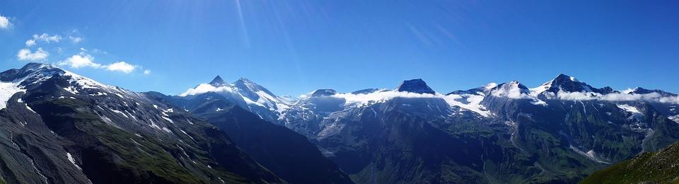 Panorama, Mountains, Nature, Alpine, Mountain Summit