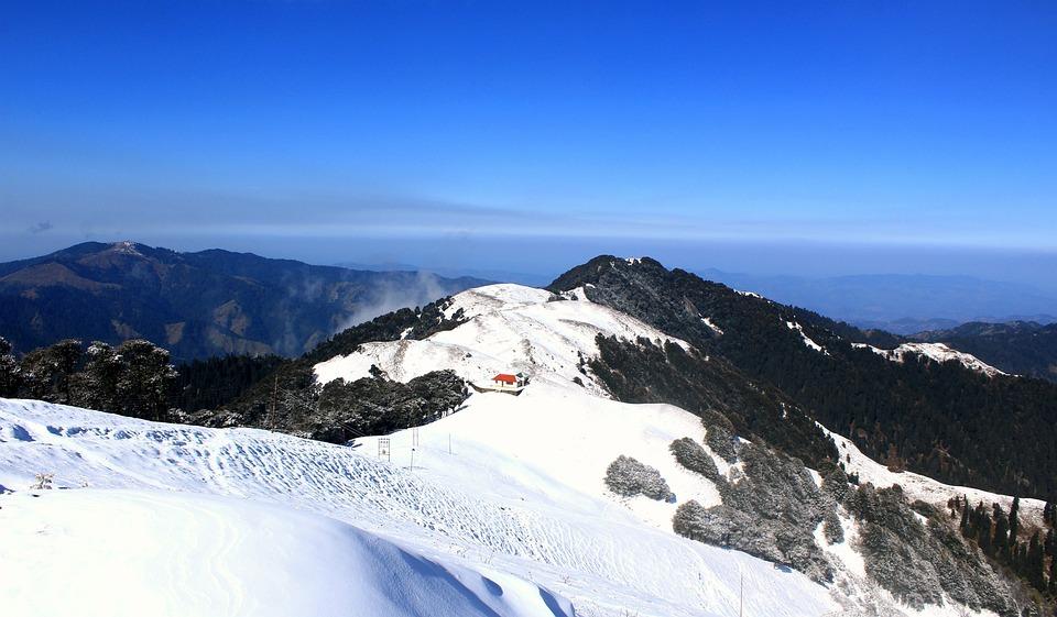 Mountain, Snow, Mountains, Landscape, Winter, Nature