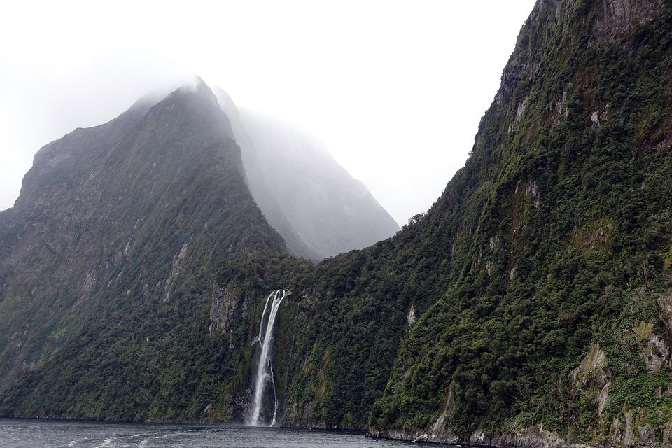 Nature, Fog, Landscape, Sky, Mountain, New Zealand