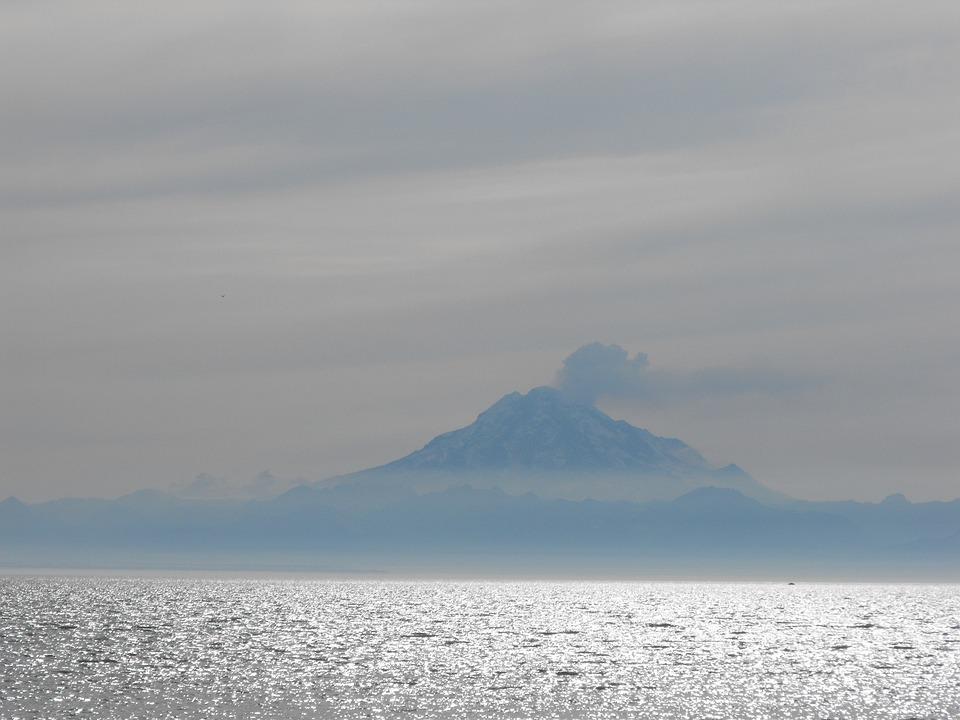 Alaska, Sea, Mountain, Nature, Water, Ocean