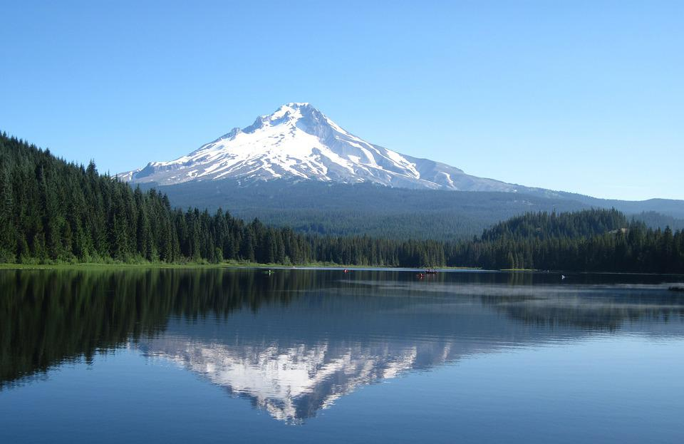 Mount, Hood, Oregon, Mountain, Nature, Scenic